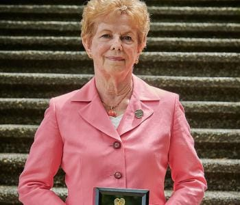 Image of Gerda, Order of Abbotsford Recipient